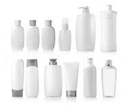 Envases de la higiene de la belleza Imagen de archivo