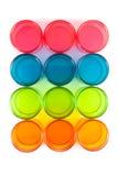 Envases de plástico  Imagen de archivo