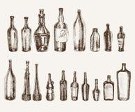 Envases para las bebidas Fotos de archivo libres de regalías