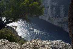 Envau Calanque. France Royalty Free Stock Images