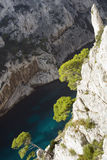 Envau calanque. France Stock Image