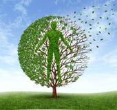 Envelhecimento e doença Foto de Stock Royalty Free