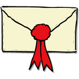 Envelop stock illustratie