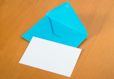 Envelop with Card Stock Photography