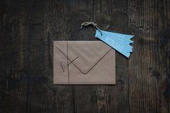 Envelop met liefde Royalty-vrije Stock Fotografie