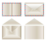 Envelop. Set of envelop illustrations on white background stock illustration