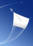 Envelop in the sky Stock Image