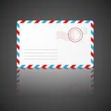 Envelop. Vector illustratie. Stock Foto's