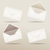 Envelop voor uw ontwerp Royalty-vrije Stock Afbeelding