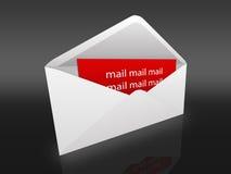 Envelope Imagem de Stock