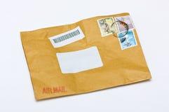 Envelope. Used envelope on white background Stock Images