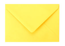 Envelope. Isolated on white background Royalty Free Stock Photos