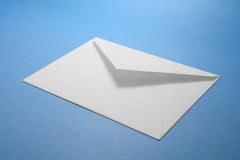Envelope. White envelope, concept of communication Royalty Free Stock Photo