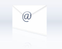 Envelope. Illustration of a envelope symbolic of email Royalty Free Stock Images