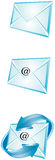 Envelope. Vector illustration showing the e-mail envelope royalty free illustration