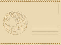 Envelope. Cover created using illustrator Stock Photos