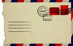 Envelope aberto Fotografia de Stock Royalty Free