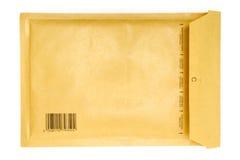 Envelope acastanhado imagem de stock
