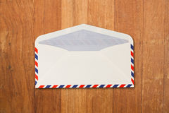 Envelope by air mail royalty free stock photo