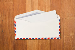 Envelope by air mail Royalty Free Stock Photos