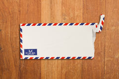 Envelope by air mail Stock Photography