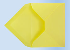 Envelope amarelo. Foto de Stock Royalty Free