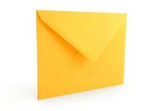 Envelope amarelo Foto de Stock