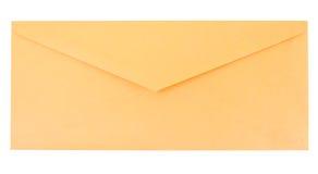 Envelope amarelo Fotografia de Stock Royalty Free