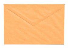 Envelope amarelo em branco imagens de stock royalty free