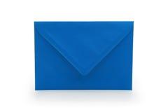 Envelope azul II foto de stock royalty free