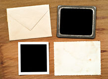 Envelope & Blank Photos Royalty Free Stock Images