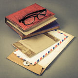 Envelope and book Royalty Free Stock Image