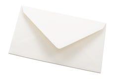 Envelope branco Imagens de Stock Royalty Free
