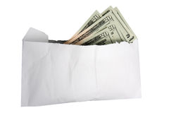 Envelope of Cash Stock Image