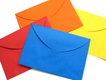 Envelope colorido - 3 Imagem de Stock Royalty Free