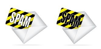 Envelope com Spam para dentro Fotos de Stock Royalty Free