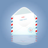 The envelope Royalty Free Stock Photos