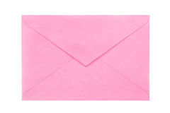 Envelope cor-de-rosa Foto de Stock Royalty Free