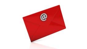 Envelope in 3d royalty free illustration