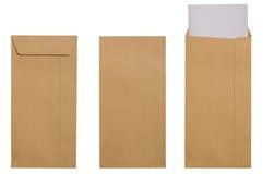 Envelope de Brown fotografia de stock royalty free