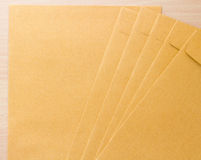Envelope de Brown Fotos de Stock Royalty Free