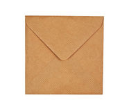 Envelope de Brown Foto de Stock