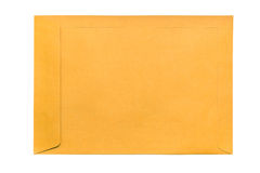 Envelope de Brown Imagem de Stock