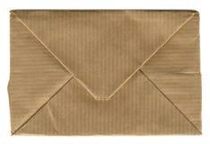 Envelope de empacotamento imagens de stock