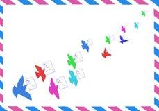 Envelope de papel Imagem de Stock Royalty Free