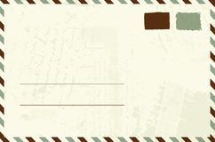 Envelope design with place for your text Royalty Free Stock Photography