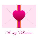 Envelope do amor Imagem de Stock