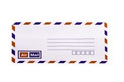 Envelope do branco e do vintage Fotografia de Stock