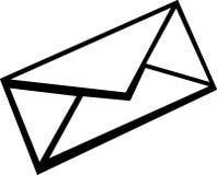 Envelope do correio Fotografia de Stock Royalty Free