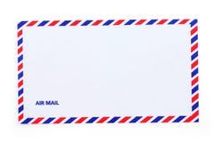 Envelope do correio aéreo Fotografia de Stock Royalty Free